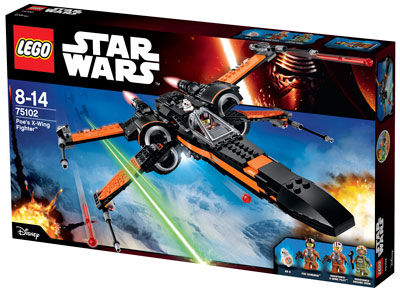 Lego Poes-X-Wing-Fighter
