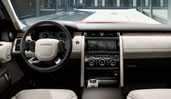 Range Rover Discovery - Innen